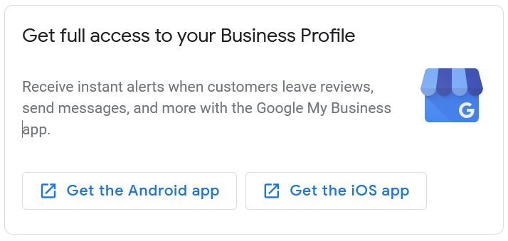 Google Listing for Business