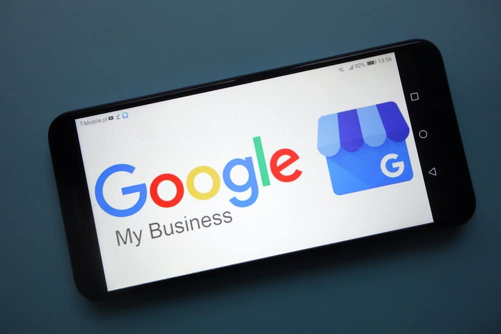 Google Listing for my Business