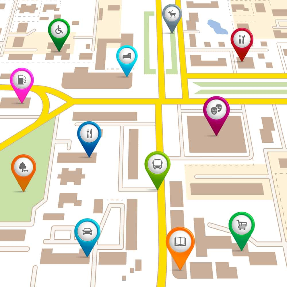 Google Map Listing for Business
