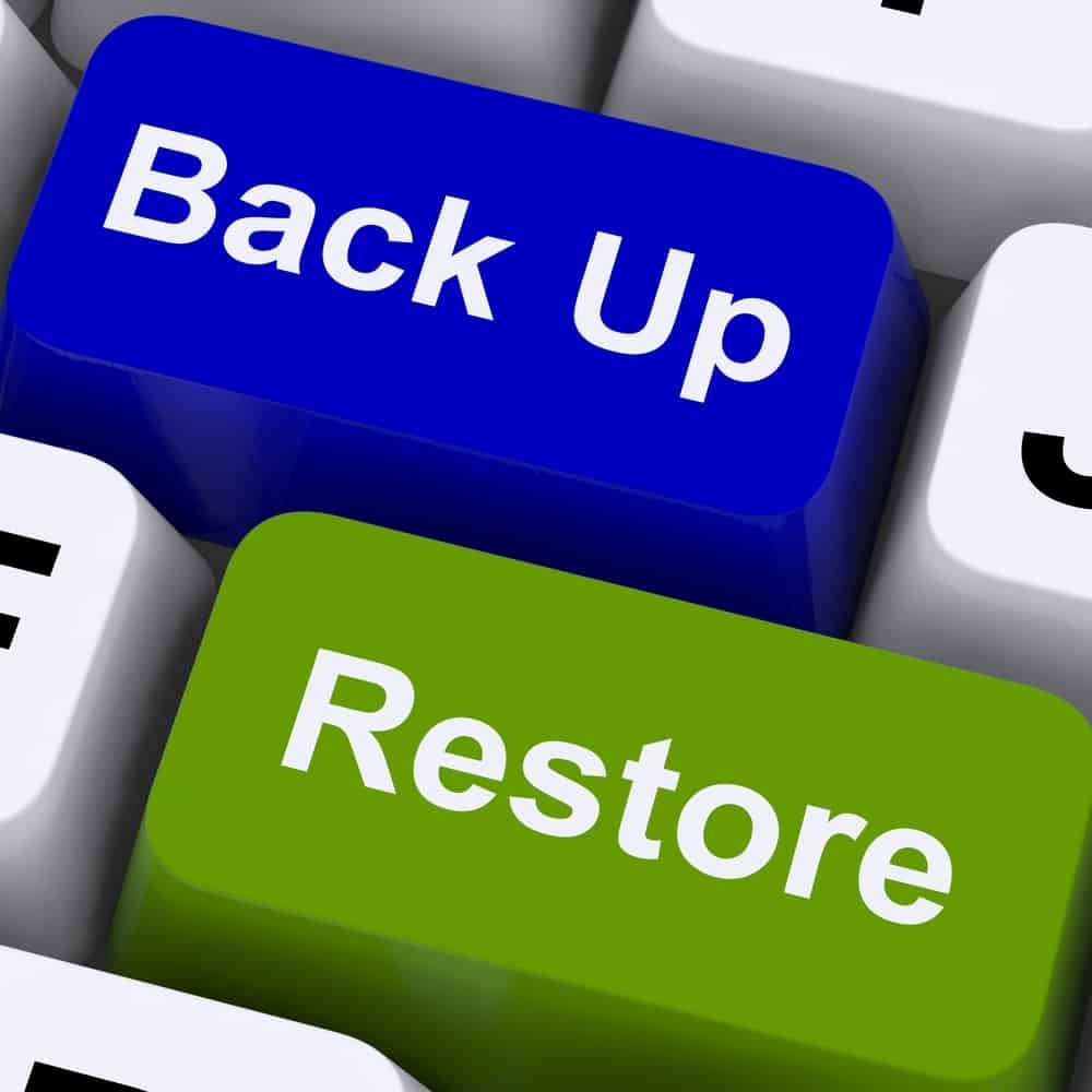 Maintain, Protect, Back up Your Ecommerce website